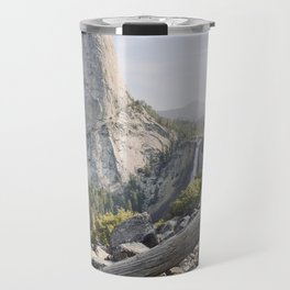 Liberty Cap and Nevada Falls in Morning Light Travel Mug