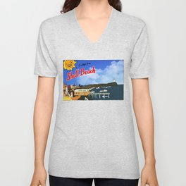 Greetings From Shell Beach Unisex V-Neck