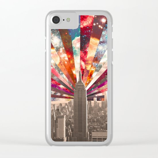 Superstar New York Clear iPhone Case