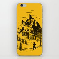 home sweet home iPhone & iPod Skins featuring Home! Sweet Home! by nicebleed