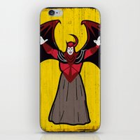 dungeons and dragons iPhone & iPod Skins featuring DUNGEONS & DRAGONS - AVENGER by Zorio