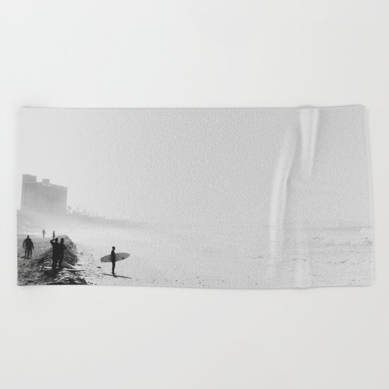 San Diego Surf Beach Beach Towel