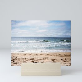 In the waves of change we find our direction Mini Art Print