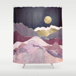 Raspberry Dream Shower Curtain