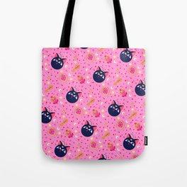Chibi Moon Pattern / Sailor Moon Tote Bag