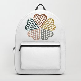 Color Waffle Backpack