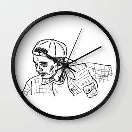 Sk8r Boi Wall Clock