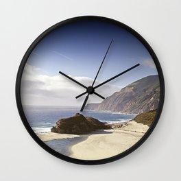 California Coastline Wall Clock