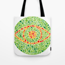 Colour Blindness Eye Tote Bag