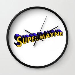 Supermayne Wall Clock