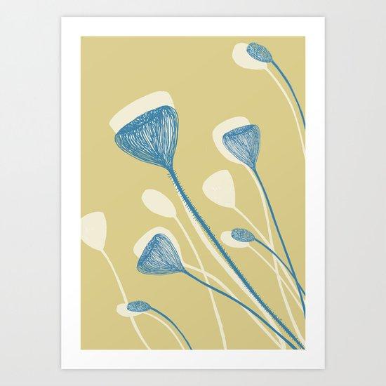 Organic shape2 Art Print