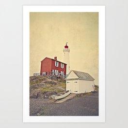 Fort Rodd Hill Art Print
