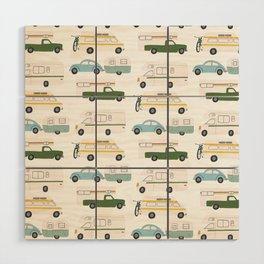 Vintage RV Motorhome Trailers Campers Wood Wall Art