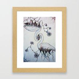 Monogamy Framed Art Print