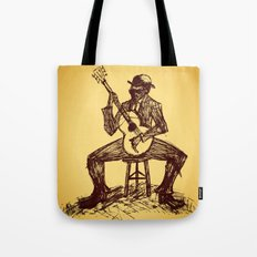 The Blues Man Tote Bag