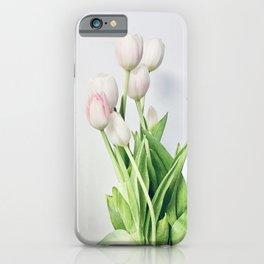 Minimal Tulips iPhone Case