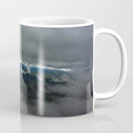 Sugarloaf through the fog Coffee Mug