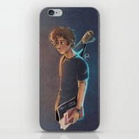 artsy iPhone & iPod Skins featuring Artsy Harry by Laia™