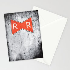 Red Ribbon Army Stationery Cards