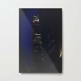 Night scape London Style Metal Print