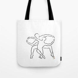 Infinite Duet Tote Bag