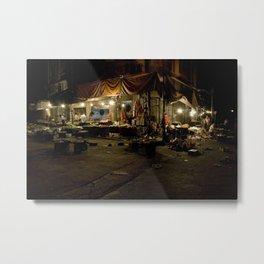 Damascus Market, Syria Metal Print