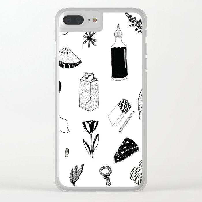 things i like on the market Clear iPhone Case