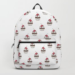 Chubby Bunny on a cupcake Backpack
