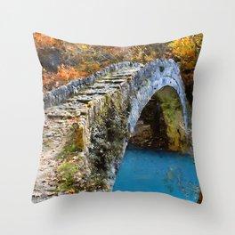 Bucolic Paradise Throw Pillow