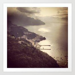 Amalfi, Italy Art Print