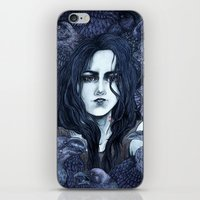 marceline iPhone & iPod Skins featuring Marceline by Angela Rizza