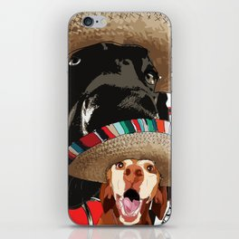 Cinco de Pup iPhone Skin