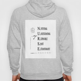 NURSE DEFINED Hoody