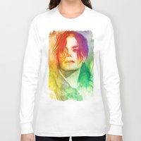 michael scott Long Sleeve T-shirts featuring Michael by Aurora Wienhold