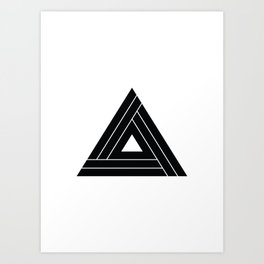 For The Bold Industries Icon Art Print