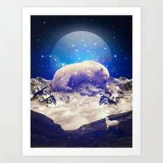Under the Stars II (Ursa Major) Art Print
