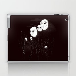 A summon in the night Laptop & iPad Skin
