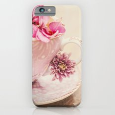Flower storm in a teacup iPhone 6s Slim Case