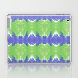 Summer Vibes Tie Dye in Lime Blue Laptop & iPad Skin