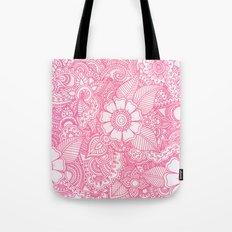 Henna Design - Pink Tote Bag