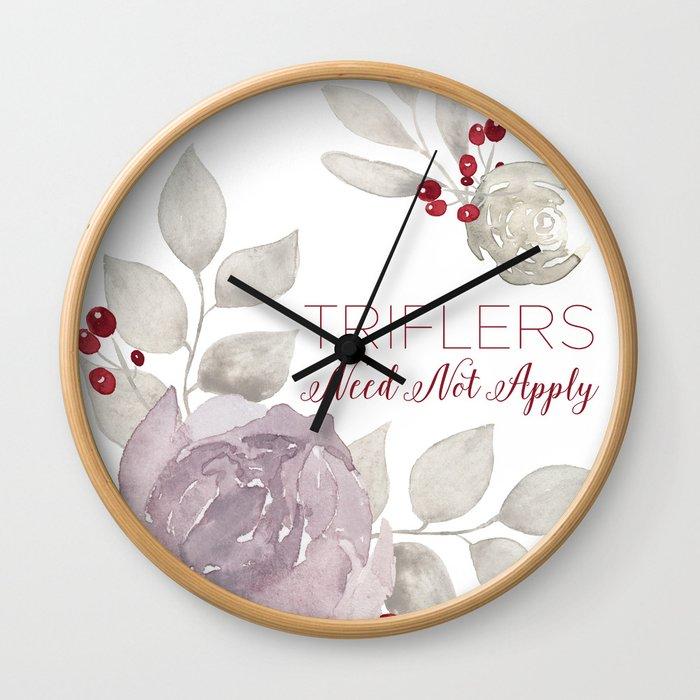 MFM: Triflers Need Not Apply Wall Clock