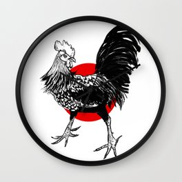 Rooster #4 Wall Clock