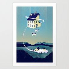 Holy Cow... Art Print