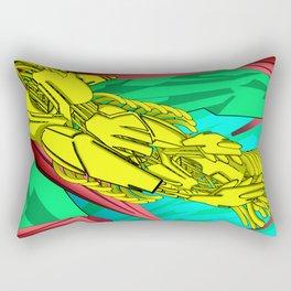 AUTOMATIC WORM 5 Rectangular Pillow
