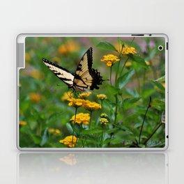 Swallowtail On Lantana Laptop & iPad Skin