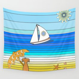 Summertime and the Living is Easy Wall Tapestry