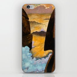 Vorhor, The Green Wave by Georges Lacombe, 1897 iPhone Skin