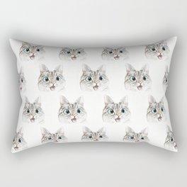 Peek a boo pattern Rectangular Pillow