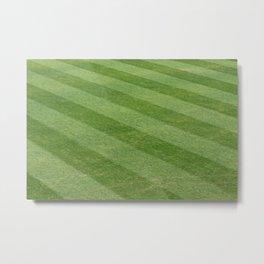 Play Ball! - Freshly Cut Grass - For Bar or Bedroom Metal Print
