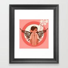 Flora Fairy Framed Art Print
